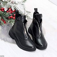 Женские ботинки зимние натуральная кожа, фото 1