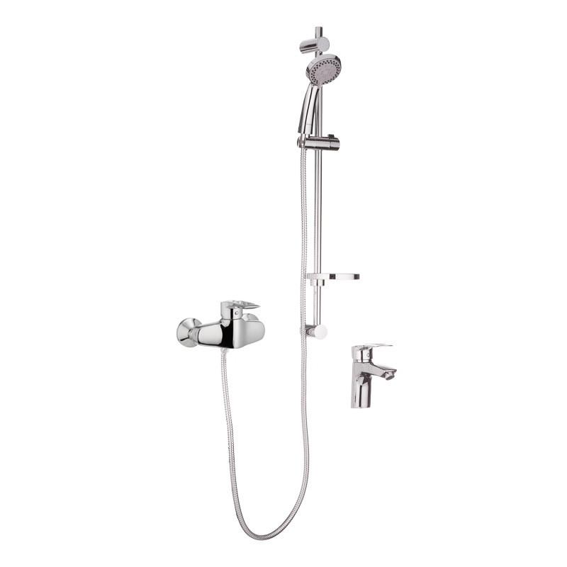 Комплект змішувачів для ванної Haiba HANSBERG SET - 2 (HB0901)