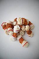 Ласощі для собак Happet кісточки в'язані з куркою 500 г (gm58)