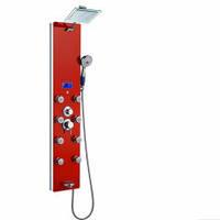 Гидромассажная панель DU787392R красная Dusel