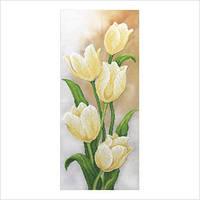 """Набор для вышивки бисером """"Белые тюльпаны"""""""