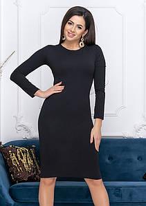 Повсякденне базове плаття Paula, чорний