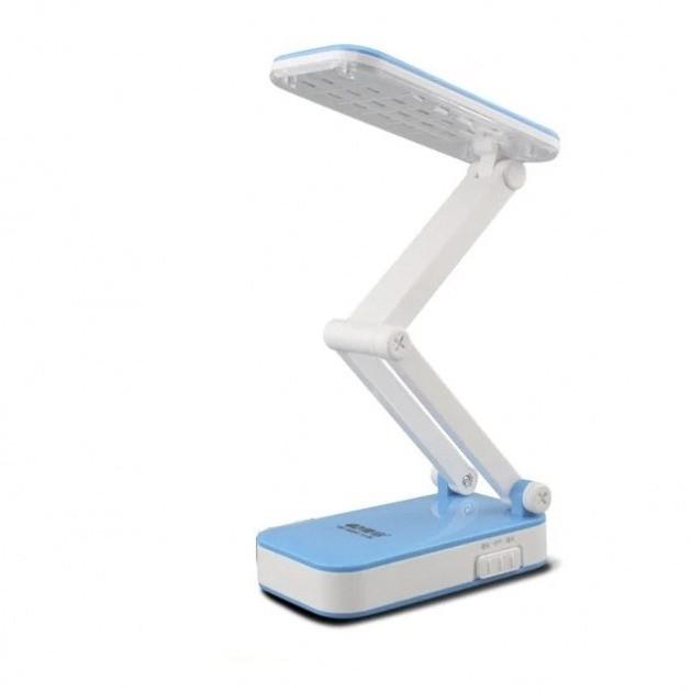Лампа светодиодная аккумуляторная настольная трансформер складная Kamisafe KM 6686C Blue (0193unk)