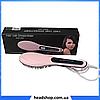 Электрическая расческа-выпрямитель Fast Hair Straightene HQT 906 с дисплеем и регулятором температур, фото 2