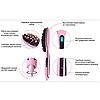 Электрическая расческа-выпрямитель Fast Hair Straightene HQT 906 с дисплеем и регулятором температур, фото 6
