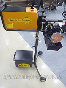 Станок для проточки тормозных дисков со снятием и без снятия с автомобиля AM-983