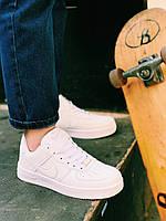 Кроссовки белые Nike Air Force Найк Аир Форс, фото 1