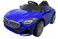 Электромобиль детский AA6 с пультом управления синий (9322)
