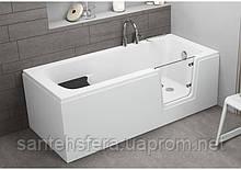 Прямоугольная акриловая ванна Polimat AVO 160 x 75 см  00012