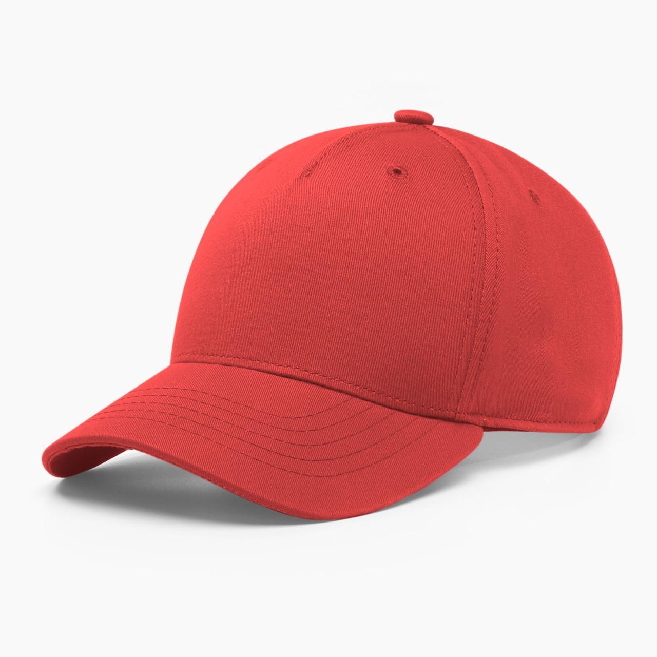 Бейсболка без логотипа INAL basic S / 53-54 RU Красный 204553