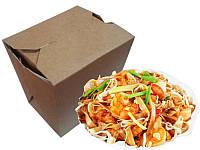 Упаковка Лапша Бокс, коробка для китайской лапши 500 мл