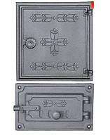 Чугунные дверцы печи DPK13/3R