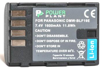 Акумулятор PowerPlant Panasonic DMW-BLF19 1600mAh