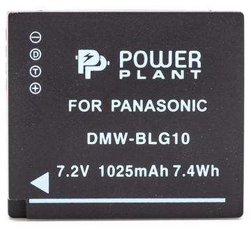 Акумулятор PowerPlant Panasonic DMW-BLG10, DMW-BLE9 1025mAh