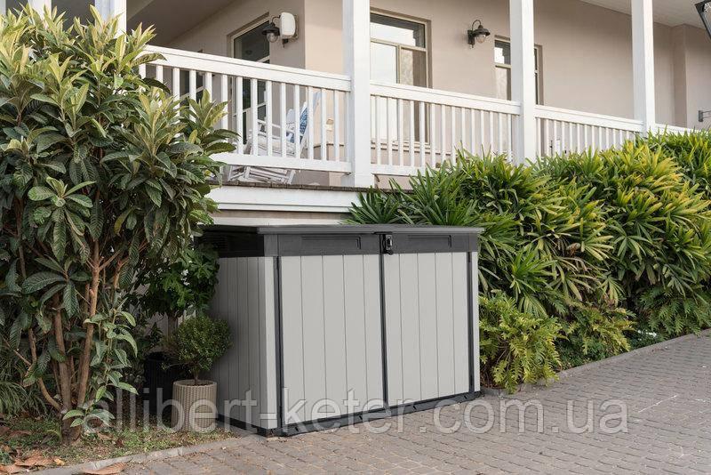 Садовый уличный шкаф - ящик для хранения Keter Premier Jumbo