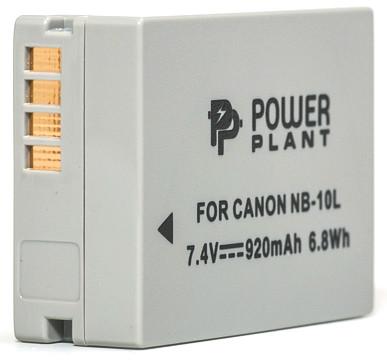 Акумулятор PowerPlant Canon NB-10L 920mAh
