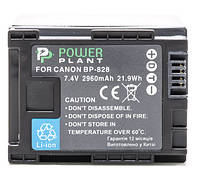 Акумулятор PowerPlant Canon BP-828 Chip 2960mAh
