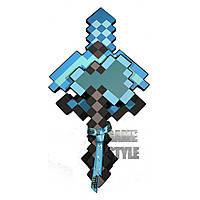 Пиксельный Алмазный набор собирателя Minecraft CollectorSet (Меч Кирка Топор)