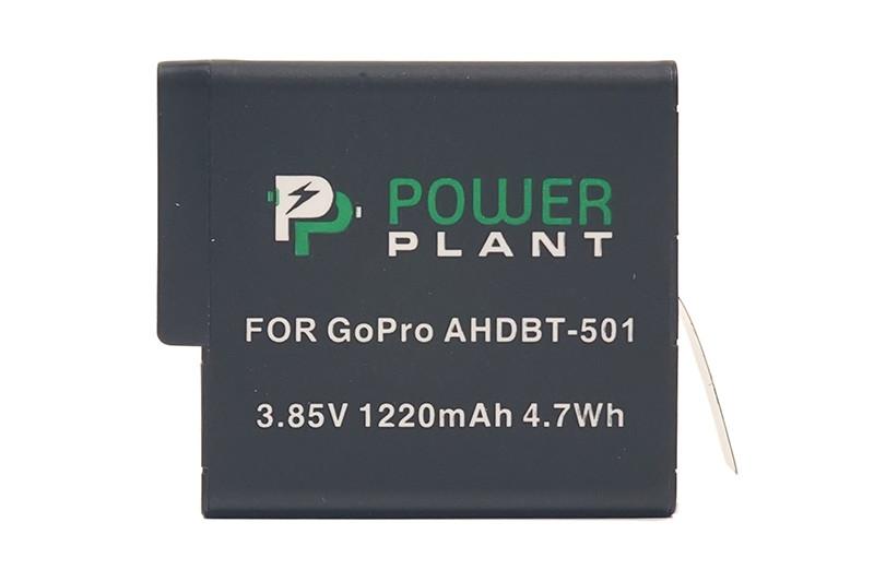 Аккумулятор PowerPlant для GoPro AHDBT-501 1220mAh