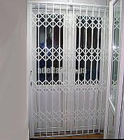 Раздвижные решетки на дверь Шир.1480*Выс2600мм для офиса