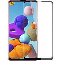 Защитное стекло Full screen PowerPlant для Samsung Galaxy A21s 2020 (A217F)