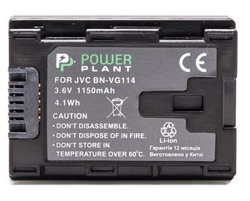 Акумулятор PowerPlant JVC BN-VG114 Chip 1150mAh