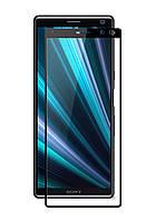Защитное стекло Full screen PowerPlant для Sony Xperia 10 (XA3), Black