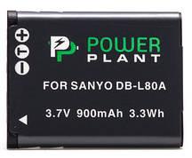 Акумулятор PowerPlant Sanyo DB-L80, D-Li88 900mAh