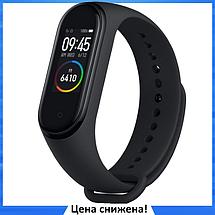 Фитнес браслет Smart Watch M4 - фитнес трекер, смарт браслет, пульсометр Черный (реплика), фото 2