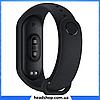 Фитнес браслет Smart Watch M4 - фитнес трекер, смарт браслет, пульсометр Черный (реплика), фото 3