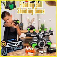 Воздушный тир, Детская игра пистолет с дротиками и летающие мишени Hover Shot, Стрелялки с бластером