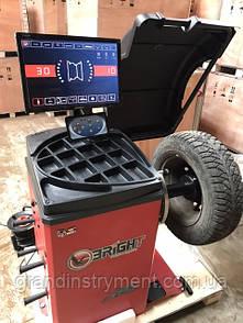 Балансувальний верстат автомат з LCD дисплеєм BRIGHT CB75P