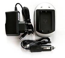 Зарядний пристрій PowerPlant Canon NB-6L, Samsung SLB-10A
