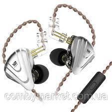 Навушники KZ ZSX з мікрофоном black