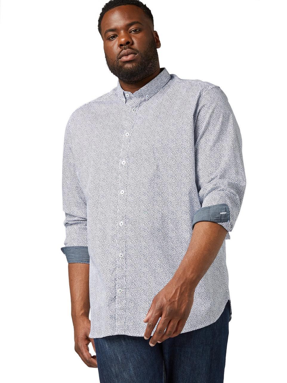 Рубашка Tom Tailor 1010149 5XL Голубой