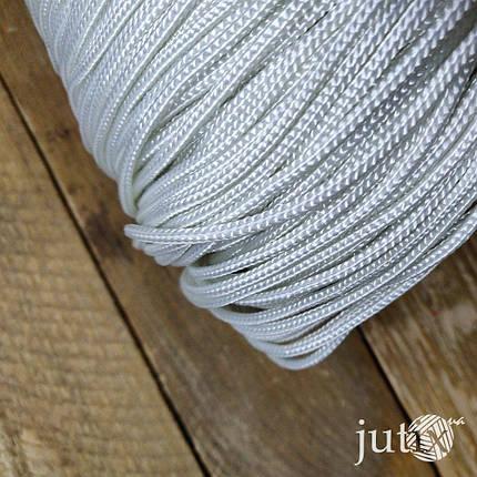 Шнур плетеный (полиэстер) 3 мм - 200 метров, фото 2