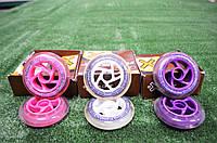 Колеса для самокатов 125 мм розовые