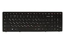 Клавиатура для ноутбука IBM/LENOVO IdeaPad Flex 15, G500s черный, черный фрейм
