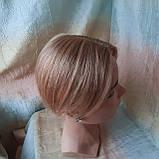 """Накладка из натуральных волос на макушку, моно-система Q-G 6""""-27, фото 5"""