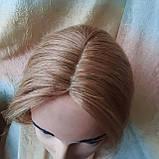 """Накладка из натуральных волос на макушку, моно-система Q-G 6""""-27, фото 7"""