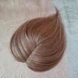 """Накладка из натуральных волос на макушку, моно-система Q-G 6""""-27, фото 8"""