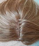 """Накладка из натуральных волос на макушку, моно-система Q-G 6""""-27, фото 10"""