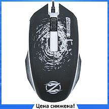Мышь игровая Zornwee Pioneer XG73 с подсветкой - компьютерная проводная мышка Чёрная, фото 3