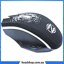 Мышь игровая Zornwee Pioneer XG73 с подсветкой - компьютерная проводная мышка Чёрная, фото 2