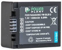 Акумулятор PowerPlant Panasonic DMW-BLB13 1300mAh