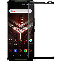 Защитное стекло Full screen PowerPlant для Asus ROG Phone 2, Black