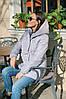 Женская модная куртка зефирка длинная пуховик, фото 6