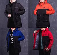 Мужская зимняя удлиненная куртка/парка (до -30°С) / 4 цвета в наличии  (до 95кг)