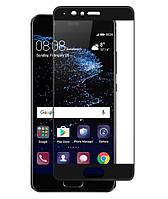 Защитное стекло Full screen PowerPlant для Huawei P10 Black