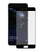 Защитное стекло Full screen PowerPlant для Huawei P10 Plus Black